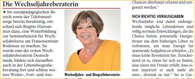 """NW Lebenslust"""" in der Tageszeitung """"Neue Westfälische"""" mit Sitz in Bielefeld"""""""
